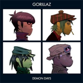 The Gorillaz Demon Days 2LP