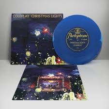Coldplay Christmas  Lights 7- Blue Vinyl-
