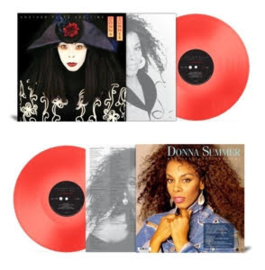 Donna Summer Another Place And Time LP - Red Vinyl-