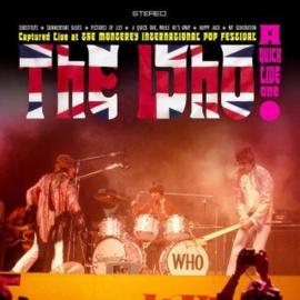 The Who A Quick Live One LP
