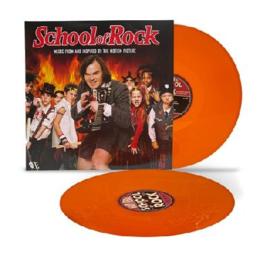 School Of Rock 2LP - Orange Vinyl-