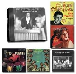 Tito Puente Quatro - Definitive Collection 5LP Box Set