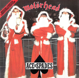 Motörhead Ace Of Spades LP - Red Vinyl-