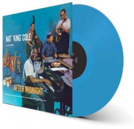 Nat King Cole After Midnight LP - Blue Vinyl-