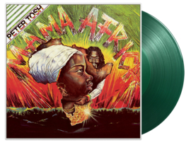 Peter Tosh Mama Africa LP - Green Vinyl-