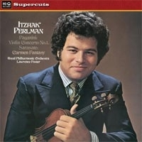 Itzhak Perlman - Plays Paganini & Sarate HQ LP