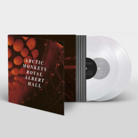 Arctic Monkey Royal Albert Hall 2LP - Clear Vinyl-