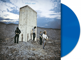 The Who Who's Next LP Blue Vinyl-