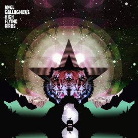 Noel Gallagher's High Flying Birds Black Star Dancing 12' - Pink Vinyl