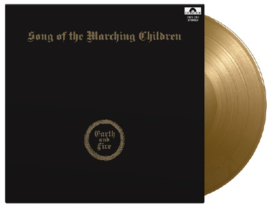 Earth & Fire Songs Of The Marching Children LP - Gold Vinyl-