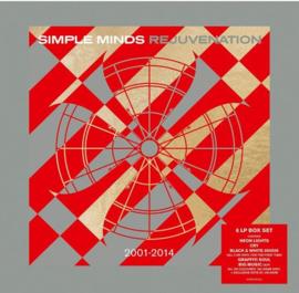 Simple Minds Neon Lights LP  -Transpant Vinyl