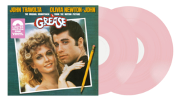 Grease Soundtrack 2LP - Pink Vinyl-