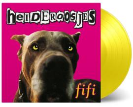 Heideroosjes Fifi LP - Geel Vinyl-