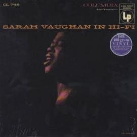 Sarah Vaughan In Hifi HQ 2LP