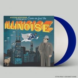 Sufjan Stevens Illinoise 2LP - Cololured Blue White -