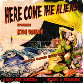 Kim Wilde Here Come the Aliens LP + CD + Canvas -ltd-