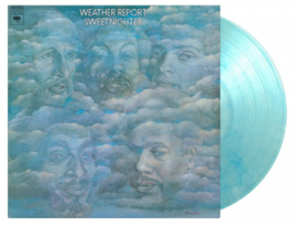 Weather Report Sweetnighter LP - Blue & White Marbled Vinyl -