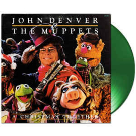 John Denver & The Muppets A Christmas Together LP - Green Vinyl-