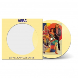 Abba Lay Your Love On Me 7' - Picture Disc-