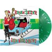 Brian Setzer Boogie Woogie Christmas LP - Green Vinyl-