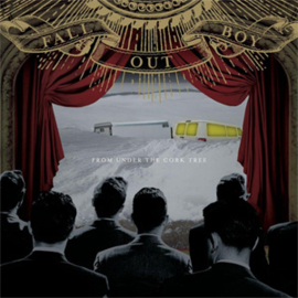 Fall Out Boy From Under The Cork Tree 180g 2LP - Blue Vinyl-