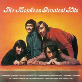 Monkees Greatest Hits LP - Orange Vinyl