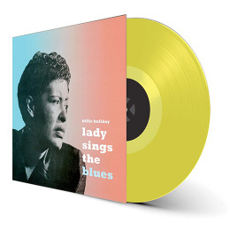 Billy Holiday All Or Nothing At All LP - Yellow Vinyl-