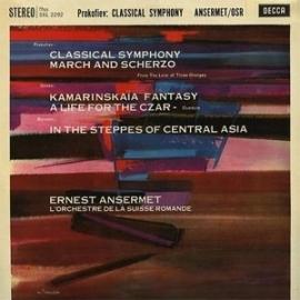 Prokofiev - Glinka & Borodin Classicals Symphony LP