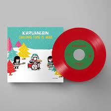 Khruangbin Christmas Time Is Here 7' - Red Vinyl-