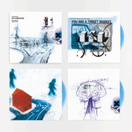 Radiohead Ok Computer 3LP - 20th Anniversary  Edition Blue Vinyl-