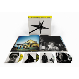 R.e.m. Automatic For The People 4CD -25th Anniversary Boxset-