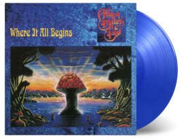 Allman Brothers Band Where It All Begins 2LP - Transparant Blue Vinyl-