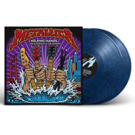 Metallica Helping Hands...Live & Acoustic at The Masonic. 140g 2LP (Black & Blue Marble Vinyl)