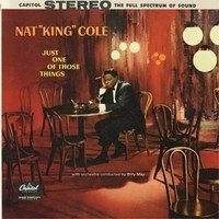 Nat King Cole Just One Of Those Things 45rpm 2LP