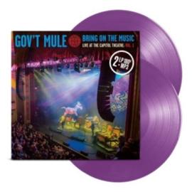 Gov't Mule Bring On The Music Vol.1 2LP - Purple Vinyl