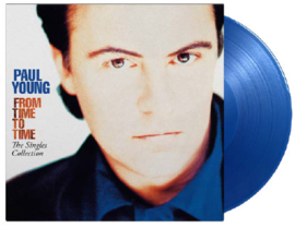 Paul Young From Time To Time 2LP - Blue Vinyl-