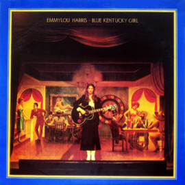 Emmylou Harris Blue Kentucky Girl LP