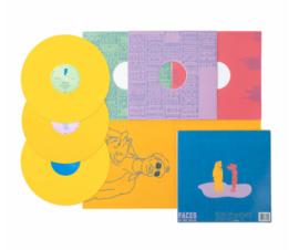 Mac Miller Faces 3LP - Yellow Vinyl-