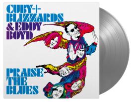 Cuby & The Blizzards  & Eddy Boyd Praise The Blues LP - Silver Vinyl-