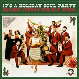 Sharon Jones & The Dap-kings It's A Holiday Soul Party LP