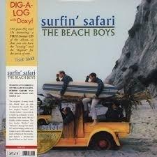 Beach Boys - Surfin Safari LP + CD.