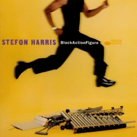 Stefon Harris Black Action Figure LP - Blue Note 75 Years-