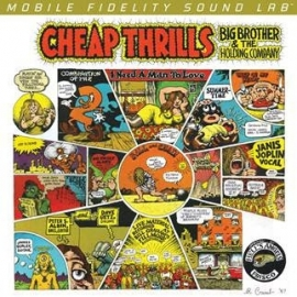 Cheap Thrills Big Brother and the Holding Company HQ 45rpm 2LP