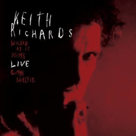 Keith Richards Wicked As It Seems Live - Red Vinyl-