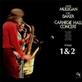 Gerry Mulligan & Chet Baker - Carnegie Hall Concert Vol.1 & 2 2LP.