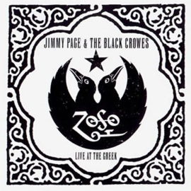 Jimmy Page & Black Crowes Live At The Creek 3LP - White Vinyl-