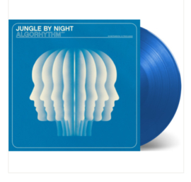 Jungle By Night Algorhytym LP - Blue Vinyl-
