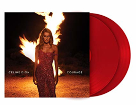 Celine Dion  Courage 2LP - Red Vinyl-