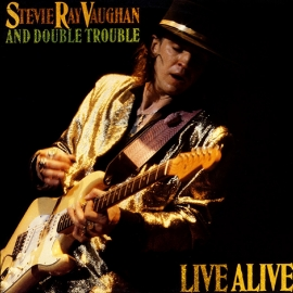 Stevie Ray Vaughan Live Alive 2LP