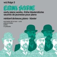 Erik Satie Early Pianoworks Vol.3 LP